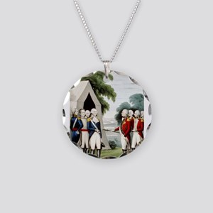 Surrender of Cornwallis - 1845 Necklace Circle Cha