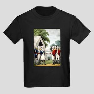 Surrender of Cornwallis - 1845 Kids Dark T-Shirt