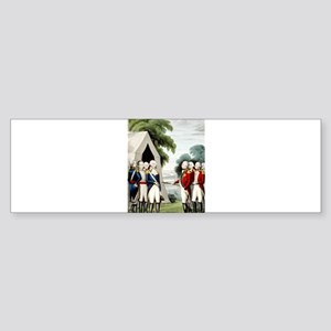 Surrender of Cornwallis - 1845 Sticker (Bumper)