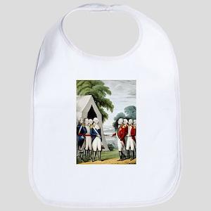 Surrender of Cornwallis - 1845 Cotton Baby Bib