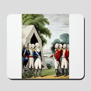 Surrender of Cornwallis - 1845 Mousepad