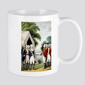 Surrender of Cornwallis - 1845 11 oz Ceramic Mug