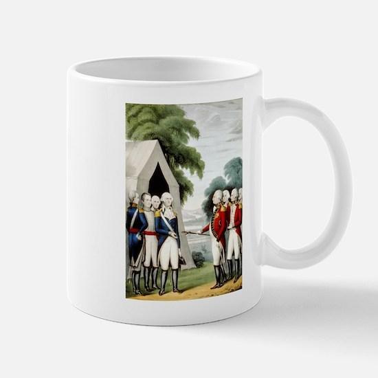 Surrender of Cornwallis - 1845 Mug