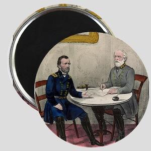 Surrender of Genl. Lee, at Appomattox - 1865 Magne