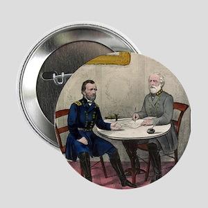 "Surrender of Genl. Lee, at Appomattox - 1865 2.25"""