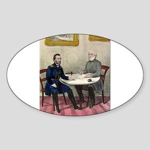 Surrender of Genl. Lee, at Appomattox - 1865 Stick