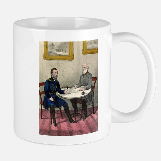 Surrender of Genl. Lee, at Appomattox - 1865 Mug