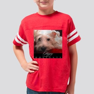 westie_HOLIDAY_STAMP_02 Youth Football Shirt