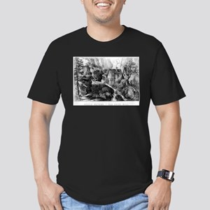 Old Swiss Mill - Puzzle Picture - 1872 T-Shirt