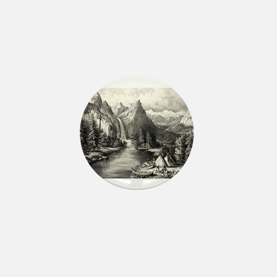 Yosemite Valley - California - The Bridal Veil Fal