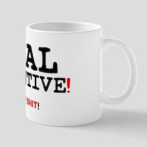 ANAL RETENTIVE! - FULL OF SHIT! Z Small Mug