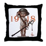 Baby New Year: 1918 Throw Pillow