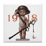 Baby New Year: 1918 Tile Coaster