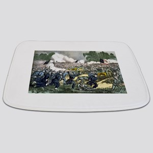 The battle of Gettysburg, Pa - 1863 Bathmat