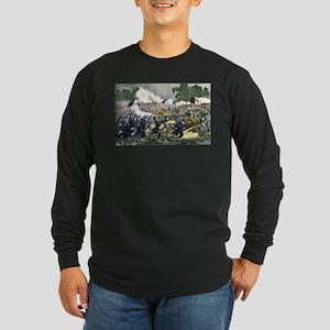 The battle of Gettysburg, Pa - 1863 Long Sleeve Da