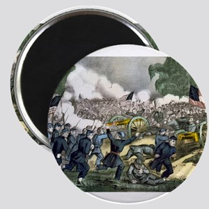 The battle of Gettysburg, Pa - 1863 Magnet