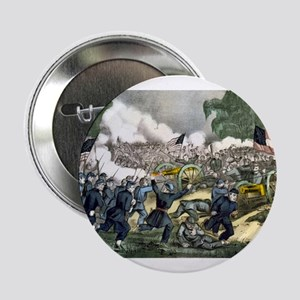 """The battle of Gettysburg, Pa - 1863 2.25"""" Button"""