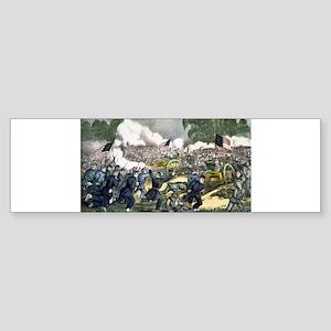 The battle of Gettysburg, Pa - 1863 Sticker (Bumpe