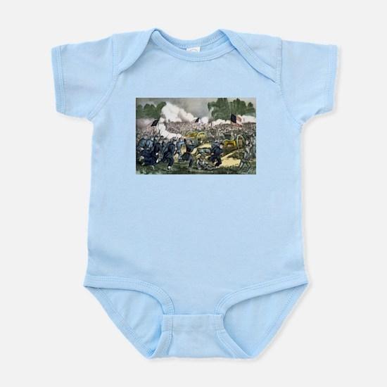 The battle of Gettysburg, Pa - 1863 Infant Bodysui