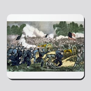 The battle of Gettysburg, Pa - 1863 Mousepad