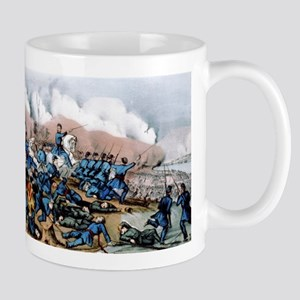 The battle of Newbern, NC - 1862 11 oz Ceramic Mug