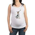 American Foxhound Party Maternity Tank Top