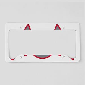 Fledermäuschen License Plate Holder