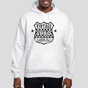 Vintage 1950 Hooded Sweatshirt