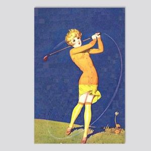 Women's Golf 2 Postcards (Package of 8)