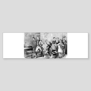 The brave boy of the Waxhaws - 1876 Sticker (Bumpe