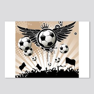 Decorative - Soccer - Football Postcards (Package