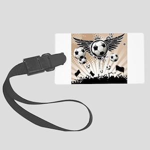 Decorative - Soccer - Football Luggage Tag