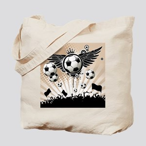 Decorative - Soccer - Football Tote Bag