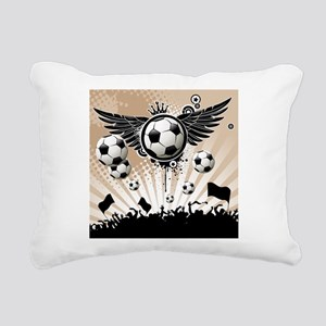 Decorative - Soccer - Football Rectangular Canvas