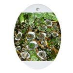 Dew on Grass 1x2 Ornament (Oval)