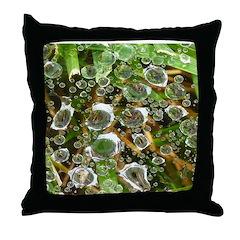 Dew on Grass 1x2 Throw Pillow