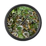 Dew on Grass 1x2 Large Wall Clock