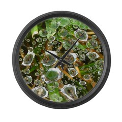 Dew on Grass 1x2 Large Wall Clock