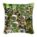 Dew on Grass 1x2 Woven Throw Pillow