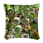 Dew on Grass 1x2 Woven Throw Pillow