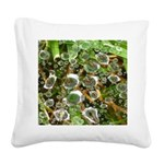Dew on Grass 1x2 Square Canvas Pillow