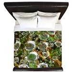 Dew on Grass 1x2 King Duvet