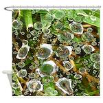 Dew on Grass 1x2 Shower Curtain