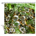 Dew on Grass 1x2 Shower Curtain