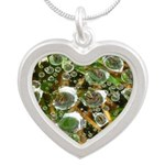 Dew on Grass 1x2 Necklaces
