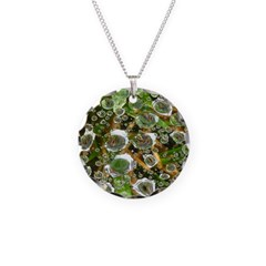 Dew on Grass 1x2 Necklace