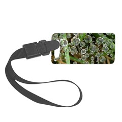 Dew on Grass 1x2 Luggage Tag