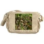 Dew on Grass 1x2 Messenger Bag