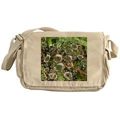 Dew on Grass 1x2 Messenger Bag