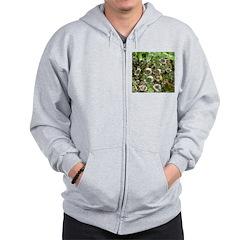 Dew on Grass 1x2 Zip Hoodie